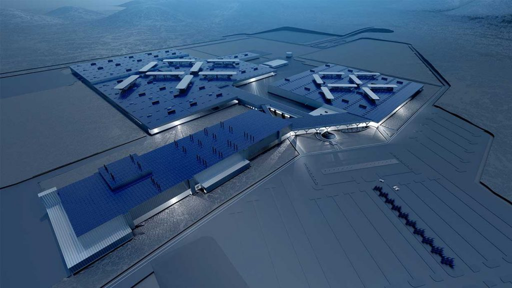 Faraday Future's factory plans in Nevada, USA