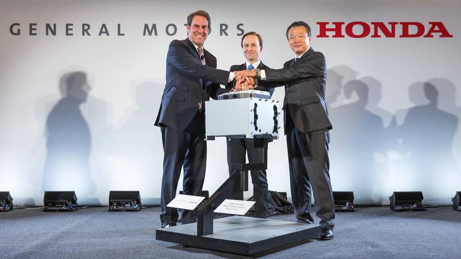 gm honda hydrogen fuel cell