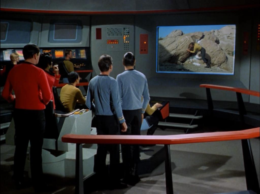 star trek original control room