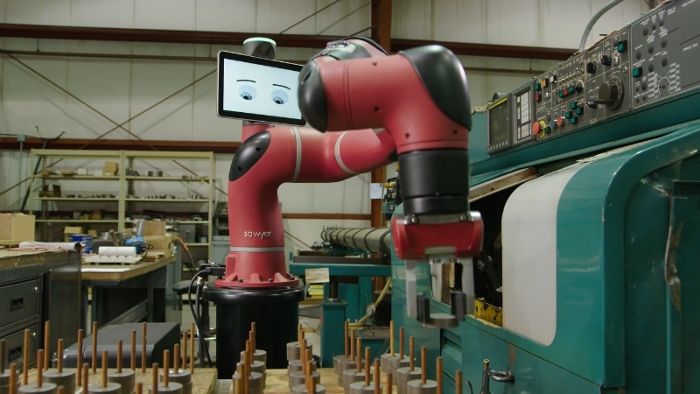 Auto interiors company hires Rethink's collaborative industrial robots