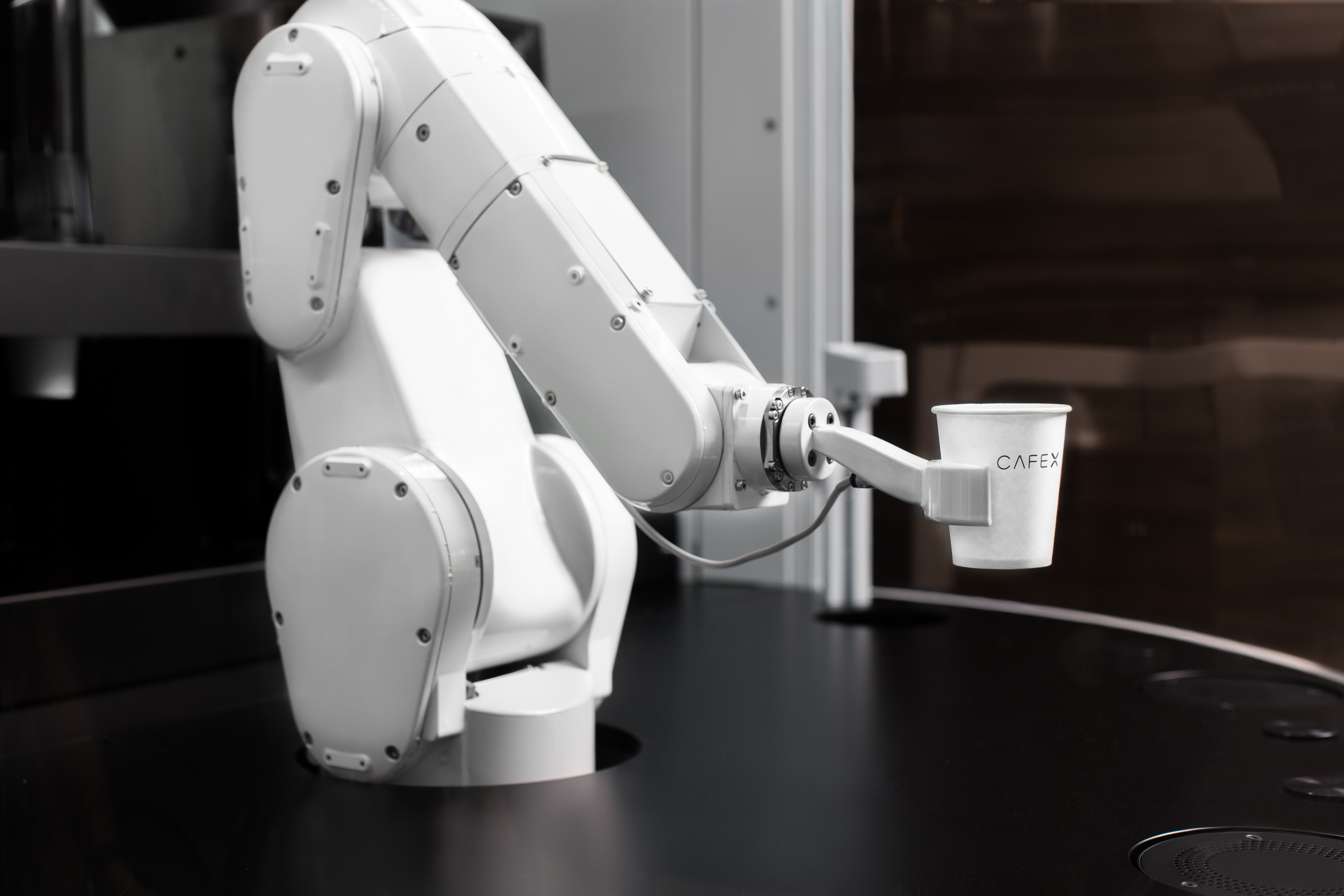 Heard the one about the robot barista?