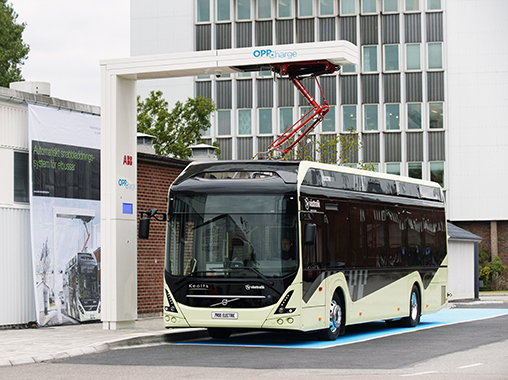 abb nova buses electric charging