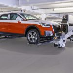 Audi obsessively improving its logistics robot