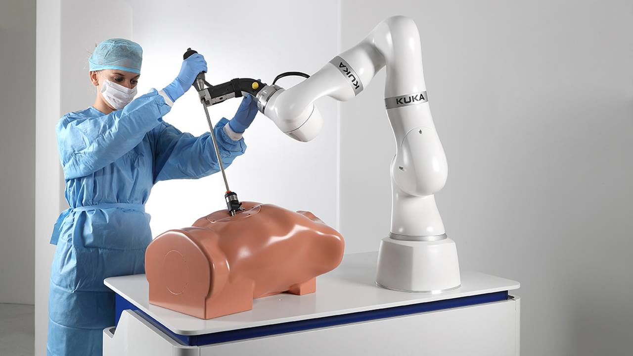 Kuka's new lightweight collaborative robot for medical applications goes into series production