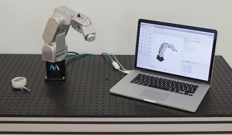 mecademic robots desktop