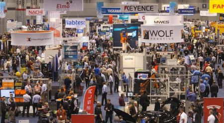 Automate 2017 show prepares to open to record crowds and highest exhibitor numbers