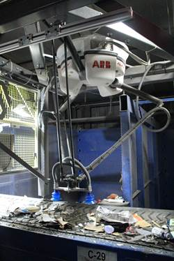 carton recycling robot