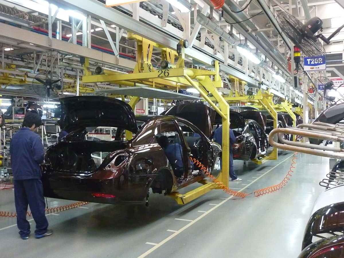 auto manufacturing Geely_assembly_line