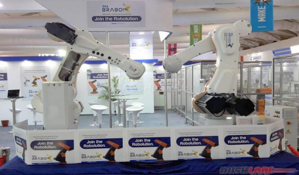 Tata to launch first India-made industrial robot Brabo in May