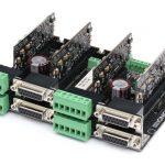 Miniature 700-watt servo motor drive with integrated motion controller