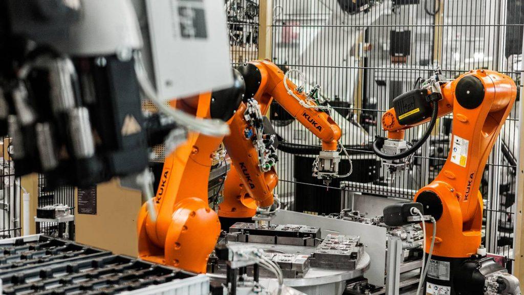 KUKA robots Possehl Electronics