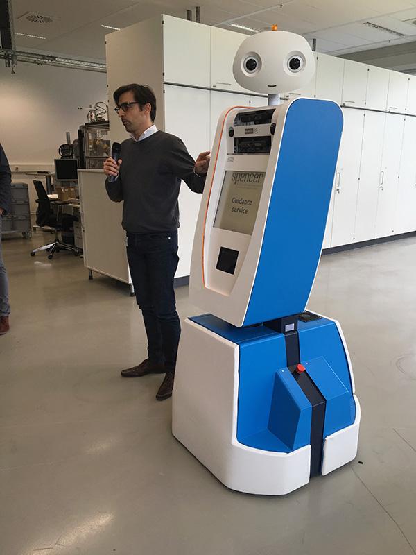 Bosch's robotics expert, Kai Arras,