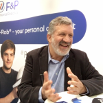 Dr Hansruedi Früh, founder and managing director of F&P Robotics