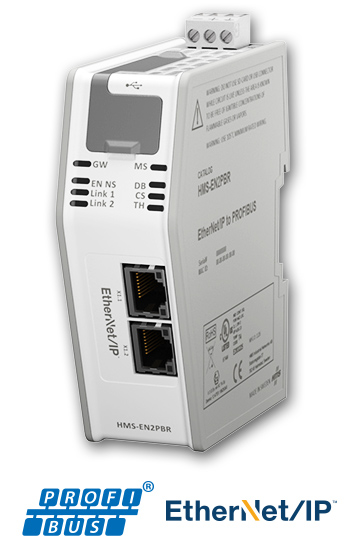 HMS Industrial launches new EtherNet/IP to Profibus DP linking device