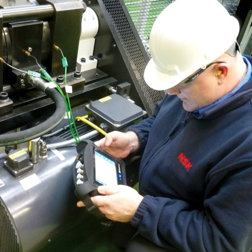 NSK claims '10 times more service life' for linear guides in robotic welding applications