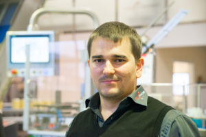 Marc Grabher, CTO of Swiss Can Machinery,