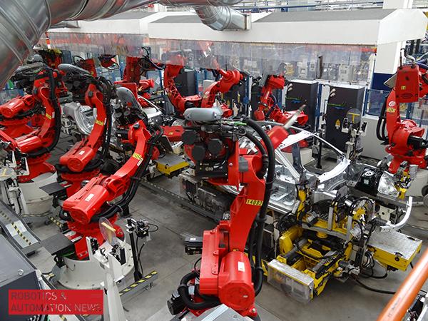 Comau provides glimpse into Maserati plant in Italy