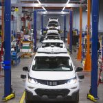 General Motors produces new fleet of self-driving Chevrolet Bolt EV test vehicles