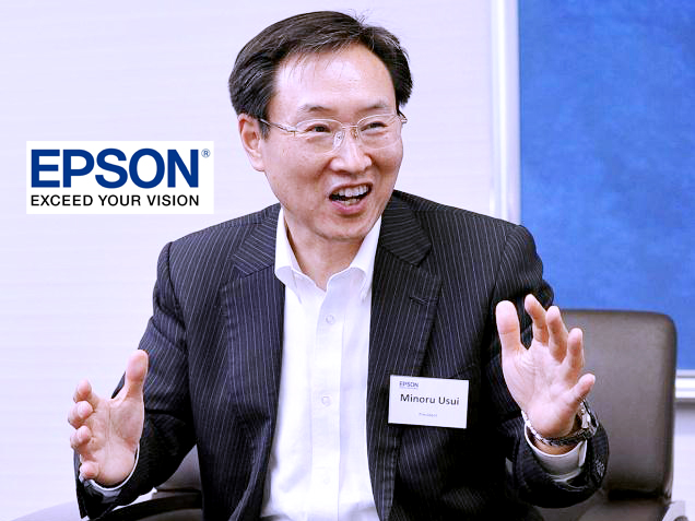 Minoru-Usui-the-Global-President-of-Japanese-Company-Seiko-Epson-Corporation