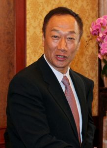 Terry Gou, CEO, Foxconn