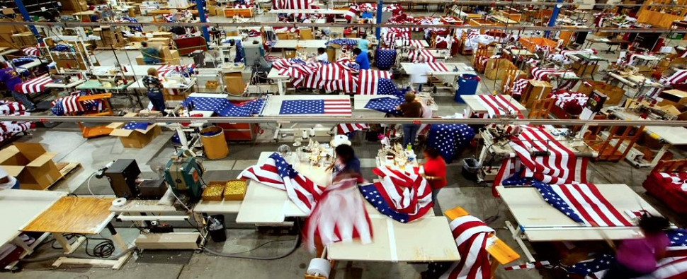 U.S.-manufacturing flags