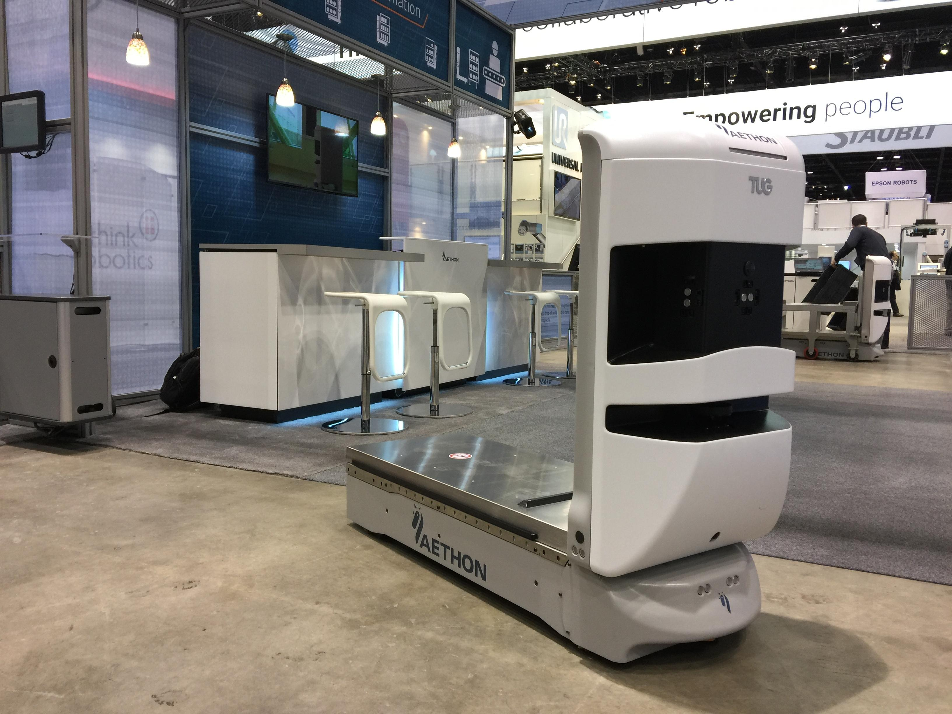 Aethon launches new autonomous mobile robots at Automate 2017