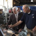 US manufacturing sector is seeing 'record investment', says Pence