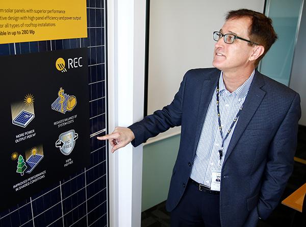 REC CEO Steve O'Neil