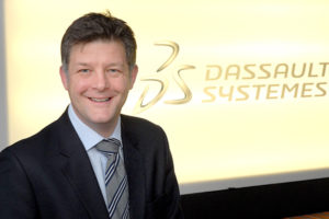 Stephen Chadwick, managing director of Dassault Systèmes, northern Europe