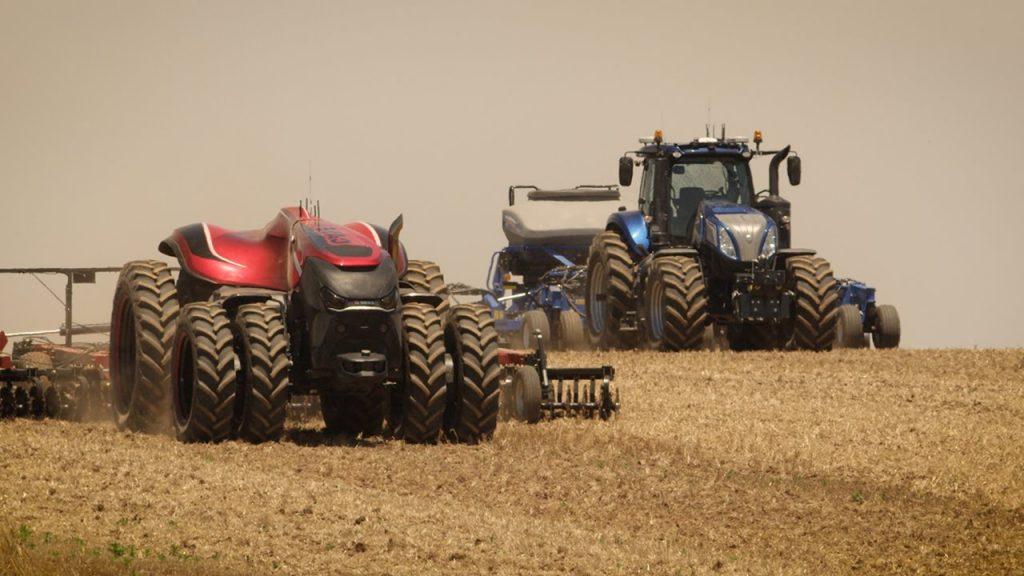 agriculture cnh autonomous tractor
