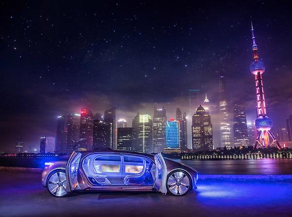 daimler autonomous car