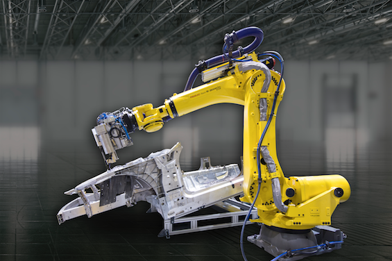 fanuc flow drilling robot