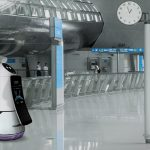 South Korea's largest airport has hired robots made by LG to assist travellers
