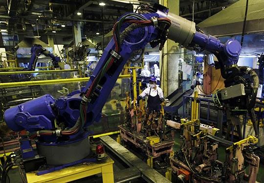 malaysian factory robot