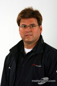 Rick Weidinger, CEO of RVT, pictured in his role with A1Team Motorsport. Picture courtesy of Motorosport.com