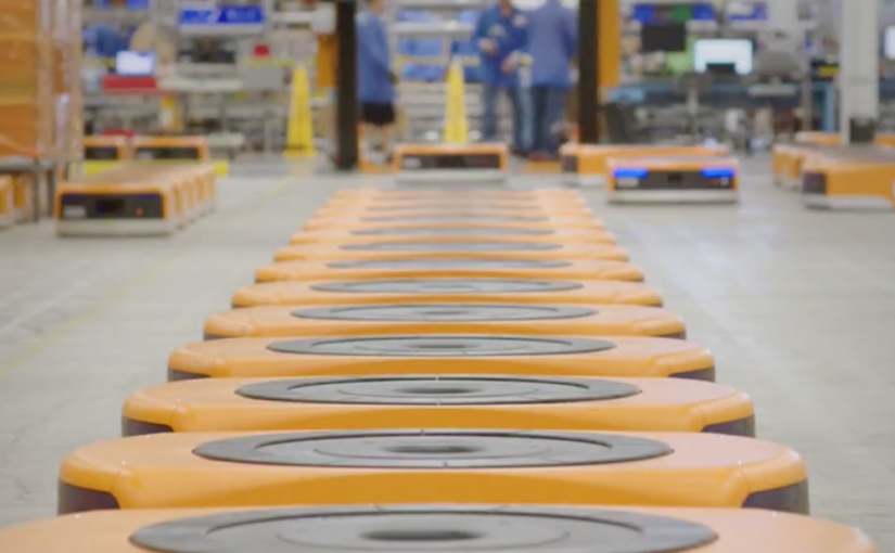 Amazon has 100,000 robots working at its warehouses worldwide