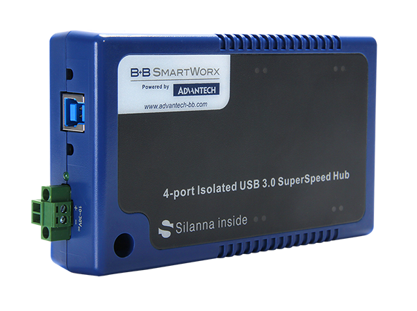 B+B SmartWorx launches first USB 3.0 Hub to provide 'isolation and super speed'