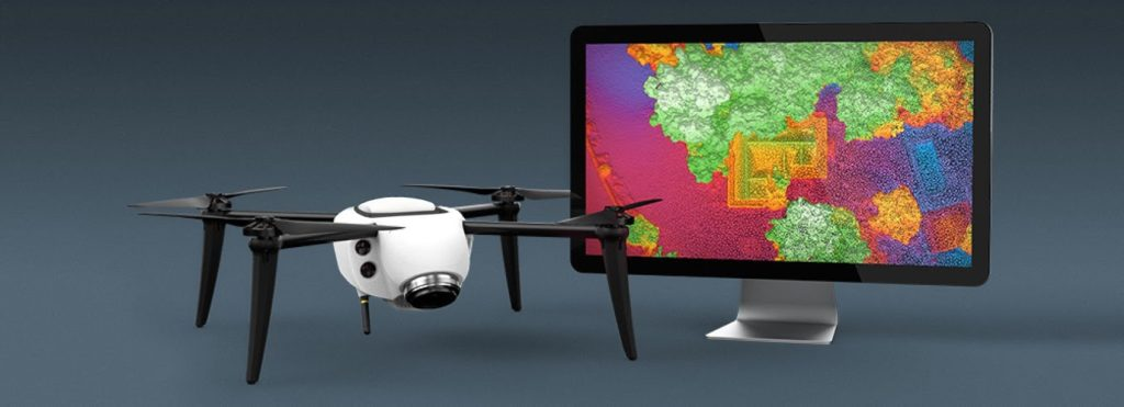 kespry drone and imac