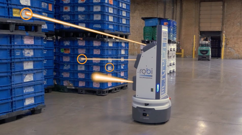robi the logistics robot by Surgere and Fetch