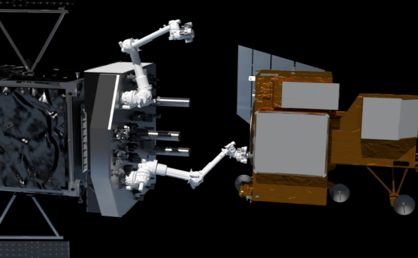 Nasa and SSL complete preliminary design review of robot that will fix satellites