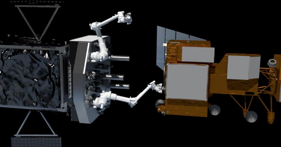 ssl satellite-fixing robot