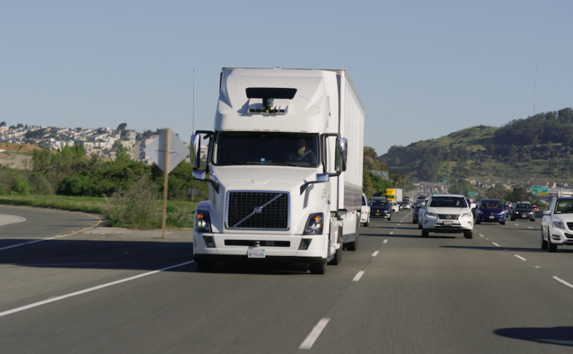 There will be 35 million autonomous trucks on the road by 2020, says Frost