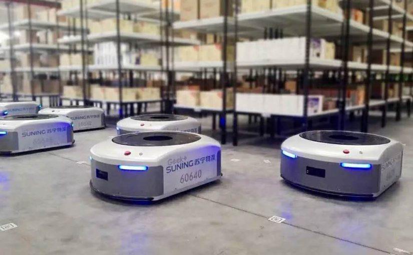 Alibaba to invest $15 billion into robotic logistics infrastructure