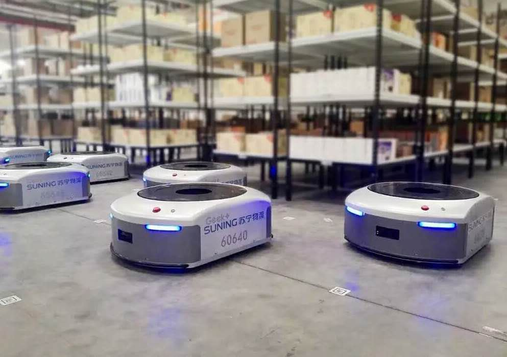 Geek Plus says it has sold 7,000 warehouse robots so far