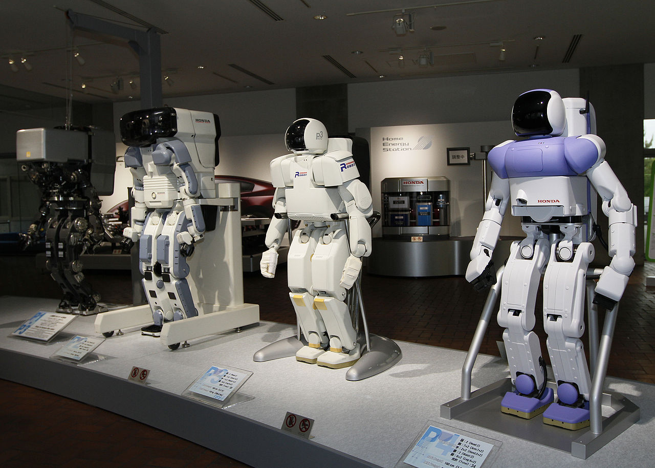 Honda_prototype_robots