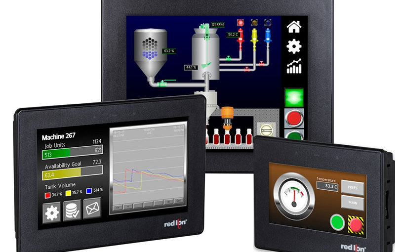 Red Lion Controls launches new generation of human machine interfaces for factory automation