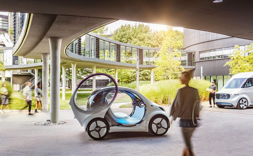 Mercedes to showcase EQ electric and autonomous concept car at Frankfurt motor show