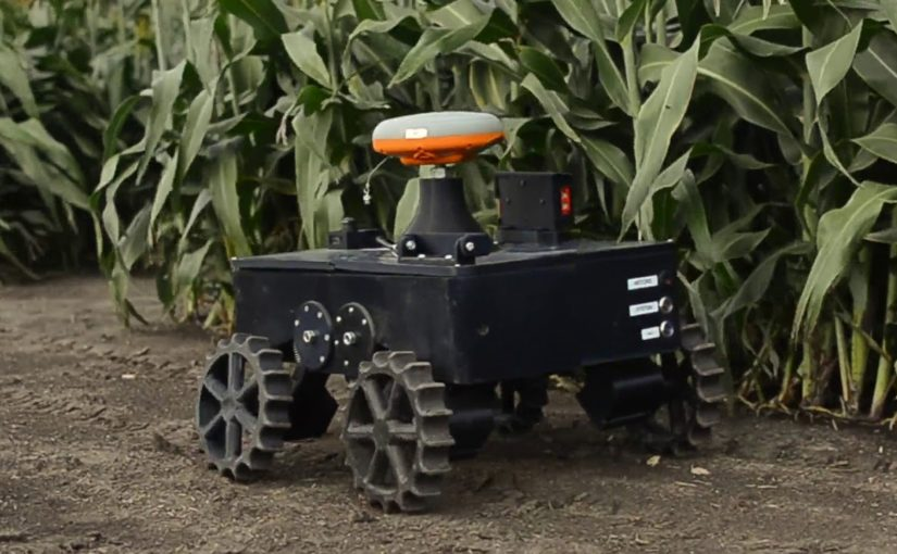 University of Illinois presents its TerraSentia farming robot to investors