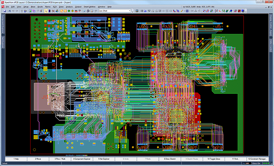 electronic system pcb_design