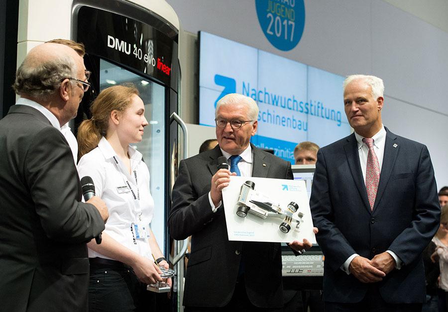 President Steinmeier at EMO Hannover